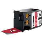Ruban d'étiquettes industrielles DYMO XTL 41 mm x 7,5 m Rouge, blanc