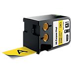 Ruban d'étiquettes industrielles DYMO XTL 41mm (L) x 7,5m (l) Noir, jaune