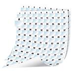 Feuille d'étiquettes DYMO XTL Blanc 2592 étiquettes