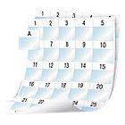 Feuille d'étiquettes DYMO XTL Blanc 1020 étiquettes