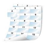 Feuille d'étiquettes DYMO XTL Blanc 1008 étiquettes