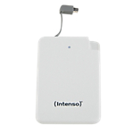 Chargeur portable Intenso Slim S5000 5000 mAh Blanc