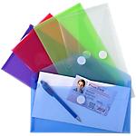 Pochettes enveloppes Exacompta 250 x 135 mm Assortiment 5 Unités