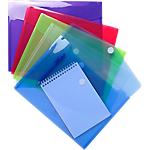 Pochettes enveloppes Exacompta A4 Assortiment 5 Unités