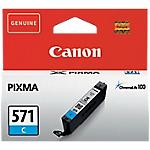 Cartouche jet d'encre Canon D'origine CLI 571C Cyan