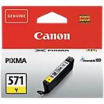 Cartouche jet d'encre Canon D'origine CLI 571Y Jaune