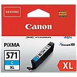 Cartouche jet d'encre Canon D'origine CLI 571C XL Cyan