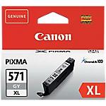 Cartouche jet d'encre Canon D'origine CLI 571GY XL Gris