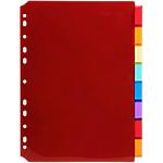 Intercalaires Exacompta A4 Assortiment 8 intercalaires Polypro Etiquette imprimable