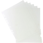 Intercalaires Exacompta A4 Transparent 6 intercalaires Polypro Vierge