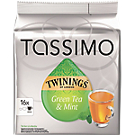 Capsules Thé vert Tassimo Twinings Menthe   16 Unités
