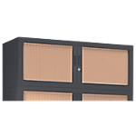 Rehausse pour armoire monobloc anthracite Acier Porte rideaux 1200 x 430 x 440 mm Pierre Henry L. 120 cm