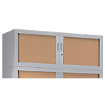 Rehausse pour armoire monobloc aluminium Acier Porte rideaux 1200 x 430 x 440 mm Pierre Henry L. 120 cm