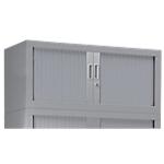 Rehausse armoire monobloc Acier Porte rideaux 1000 x 430 x 440 mm Pierre Henry 7035