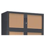 Rehausse pour armoire monobloc anthracite Acier Porte rideaux 1000 x 430 x 440 mm Pierre Henry L. 100 cm