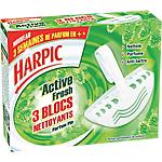 Blocs nettoyants Harpic Active Fresh   3 Unités