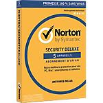 Logiciel Antivirus Symantec Norton Security Deluxe 1 An 5 Appareils