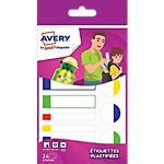 Étiquettes plastifiées Avery Avery Blanc 860 mm 24 Unités