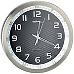 Horloge murale radio pilotée TechnoLine WT8970 30 x 4,2 cm Noir