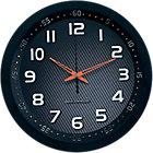 Horloge murale radio pilotée TechnoLine WT8972 30 x 4,2 cm Noir