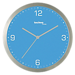 Horloge murale TechnoLine WT9000 30 x 3,3 cm Bleu