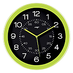 Gloss by CEP Horloge murale Pro 30 x 4,5 cm Vert