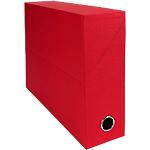 Boîtes transfert Exacompta 90 mm 34 x 9 x 25,5 cm Rouge