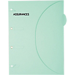 Pochette papier SMARTFOLDER Assurances A4 300 g