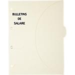 Pochettes perforées SMARTFOLDER Bulletins de salaire A4 300 g
