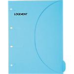 Pochette SMARTFOLDER Logement A4 300 g