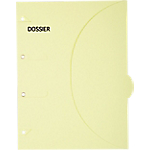 Pochettes perforées SMARTFOLDER Dossier A4 300 g
