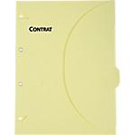 Pochettes perforées SMARTFOLDER Contrats A4 300 g