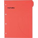 Pochettes perforées SMARTFOLDER Factures A4 300 g