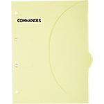 Pochettes perforées SMARTFOLDER Commandes A4 300 g