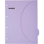 Pochette en papier SMARTFOLDER Banque A4 300 g