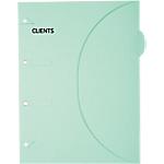 Pochette en papier SMARTFOLDER Clients A4 300 g
