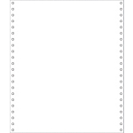 Papier listing Blanc Exacompta 65511E   2000 Feuilles