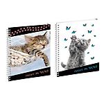 Cahier de texte Exacompta Funny pets 1 Jour par page 2020, 2021 Assortiment