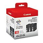 Cartouche jet d'encre Canon D'origine PGI 2500XL Noir 3 Unités