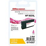 Cartouche jet d'encre Office Depot Compatible HP 953XL Magenta F6U17AE