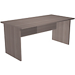 Bureau droit Easy Select 1 600 x 800 x 740 mm Imitation cèdre