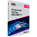 Logiciel antivirus Bitdefender Total Security 2019 2 ans