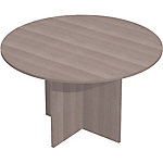Table de réunion Easy Select 1 200 x 740 mm Imitation cèdre