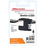 Cartouche jet d'encre Office Depot Compatible Brother LC223BK Noir
