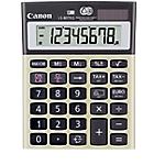 Calculatrice de bureau Canon LS 80TEG 8 Chiffres Gris, Or