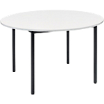Table ronde Cafétéria 74 cm Gris