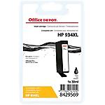 Cartouche jet d'encre Office Depot Compatible HP 934XL Noir C2P23AE