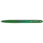 Stylo bille rétractable Pilot Super Grip G 0.4 mm Vert