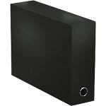 Boîte de transfert ELBA Colour Life 25,5 x 9 cm Noir