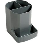 Pot à crayons Exacompta Office 9 x 12,3 x 11,1 cm Gris